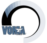 VOMA Logo. Logo is initials VOMA with a dove carrying an olive branch.surrounded by a circle. Colors blue-gray and white. The web page is white surrounded by the same blue-gray color.